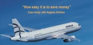Case story with Aegean Airlines that uses PC GroundCost to manage ground handling invoices
